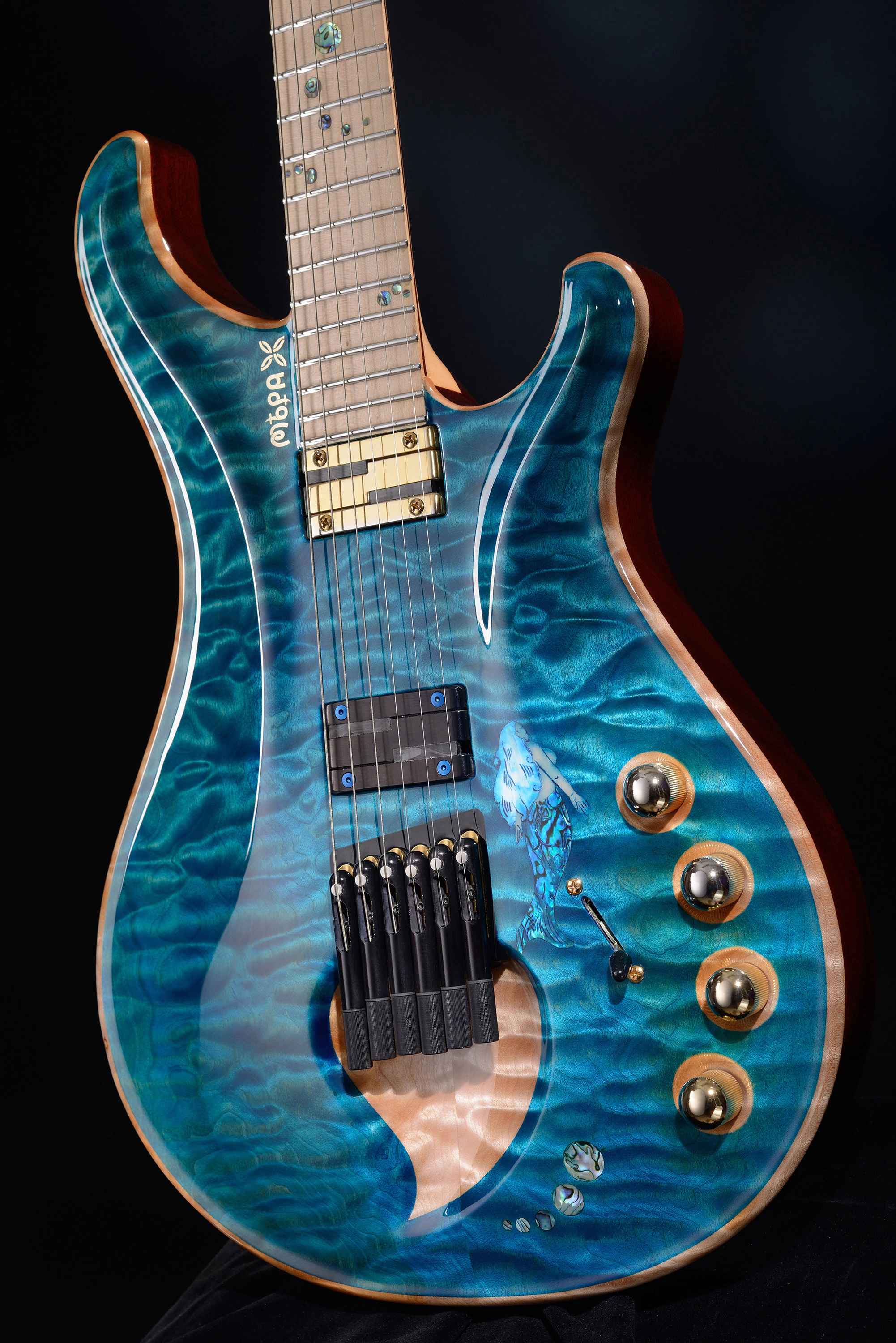 """Rusalka"" Innovative Headless Guitar With"